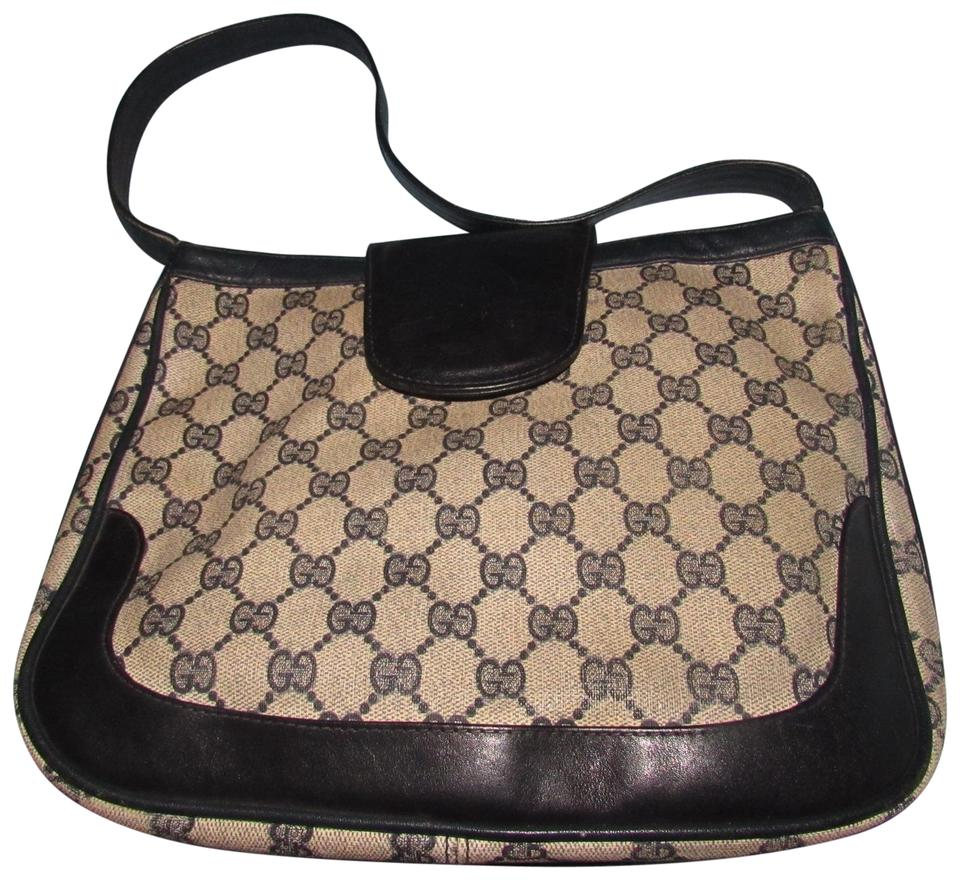 Gucci  snaffle  Equestrian Accents Great For Everyday Rare Early Excellent Vintage  Hobo Bag ... 8f3f0116a07af