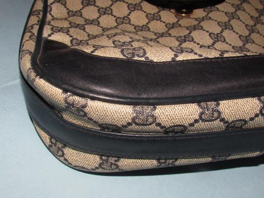 Gucci 'snaffle' Equestrian Accents Great For Everyday Rare Early Excellent Vintage Hobo Bag Image 11