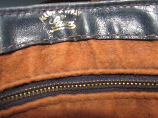 Gucci 'snaffle' Equestrian Accents Great For Everyday Rare Early Excellent Vintage Hobo Bag Image 2