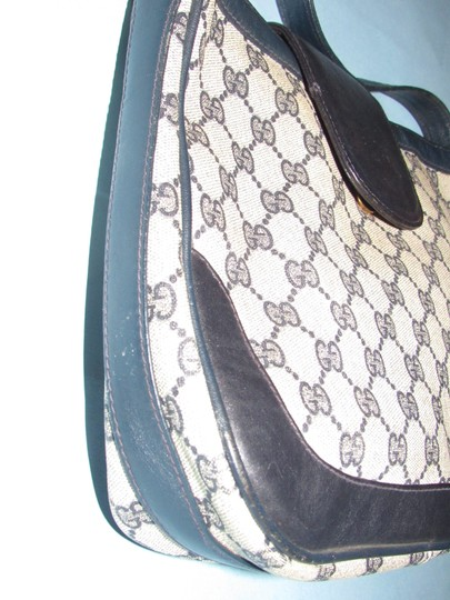Gucci 'snaffle' Equestrian Accents Great For Everyday Rare Early Excellent Vintage Hobo Bag Image 4