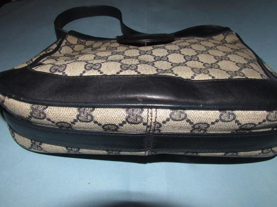 Gucci 'snaffle' Equestrian Accents Great For Everyday Rare Early Excellent Vintage Hobo Bag Image 5