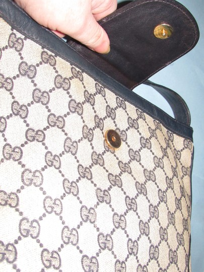 Gucci 'snaffle' Equestrian Accents Great For Everyday Rare Early Excellent Vintage Hobo Bag Image 6