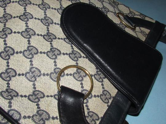 Gucci 'snaffle' Equestrian Accents Great For Everyday Rare Early Excellent Vintage Hobo Bag Image 7