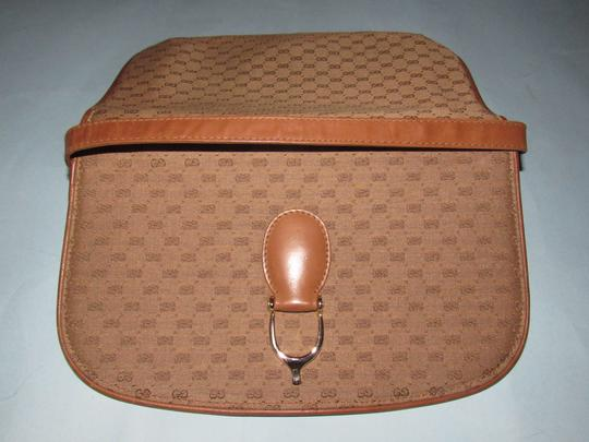 Gucci Equestrian Accents Two-way Style Clutch/Shoulder Mint Vintage Early Style Shoulder Bag Image 1