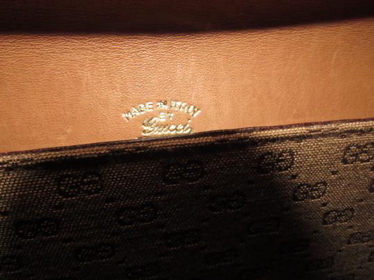 Gucci Equestrian Accents Two-way Style Clutch/Shoulder Mint Vintage Early Style Shoulder Bag Image 3
