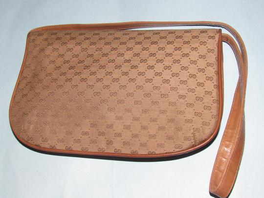Gucci Equestrian Accents Two-way Style Clutch/Shoulder Mint Vintage Early Style Shoulder Bag Image 6