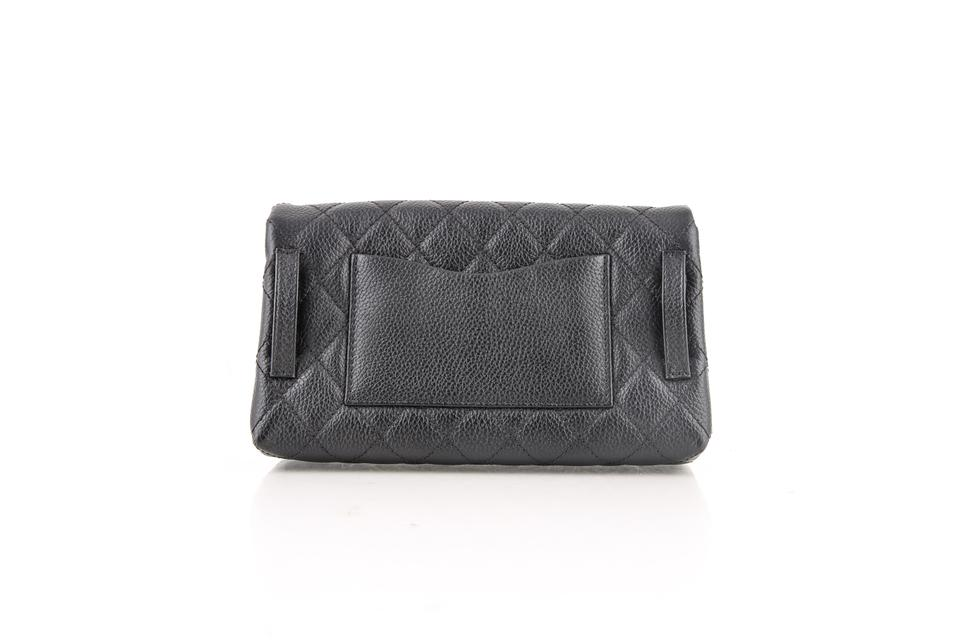 b418d23545d0 Chanel Waist Quilted Caviar Waist-belt Uniform Black Leather Weekend/Travel  Bag - Tradesy