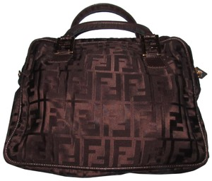 Fendi Mint Condition Canvas/Leather Satchel/Crossbody Early 2way Satchel in brown Zucca print