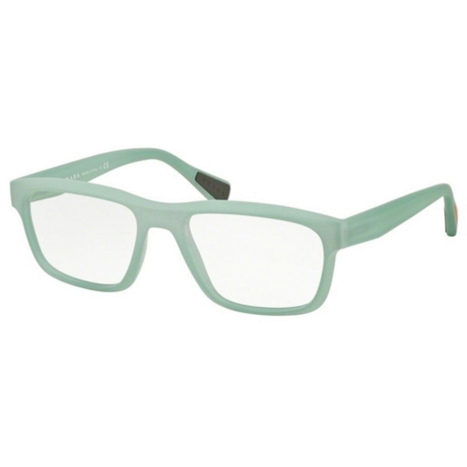 f3a3e773698 Prada Sports PS07GV-UFM1O1 Linea Rossa Men Light Green Frame 53mm Eyeglasses  Image 0 ...