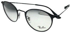 Ray-Ban New RAY-BAN Eyeglasses RB 6378 2904 49-21 145 Matte Black-Shiny Black