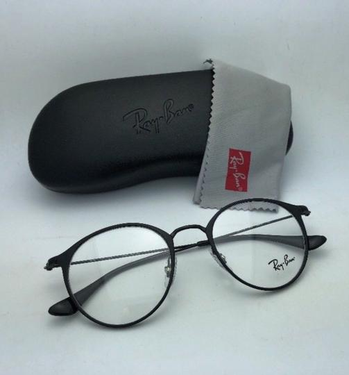 Ray-Ban New RAY-BAN Eyeglasses RB 6378 2904 49-21 145 Matte Black-Shiny Black Image 11