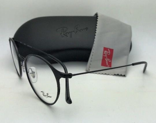 Ray-Ban New RAY-BAN Eyeglasses RB 6378 2904 49-21 145 Matte Black-Shiny Black Image 5