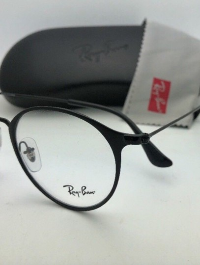 Ray-Ban New RAY-BAN Eyeglasses RB 6378 2904 49-21 145 Matte Black-Shiny Black Image 6