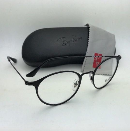 Ray-Ban New RAY-BAN Eyeglasses RB 6378 2904 49-21 145 Matte Black-Shiny Black Image 8