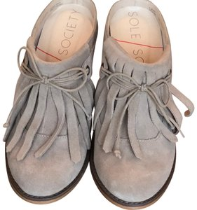 Sole Society beige Mules