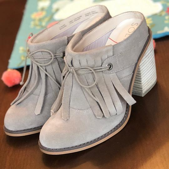 Sole Society beige Mules Image 1
