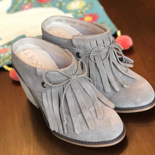 Sole Society beige Mules Image 2