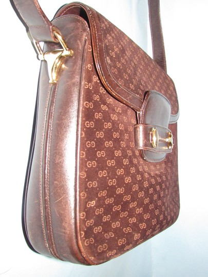 Gucci Equestrian Accents Mint Vintage Early Style Great For Everyday Rich Hobo Bag Image 1