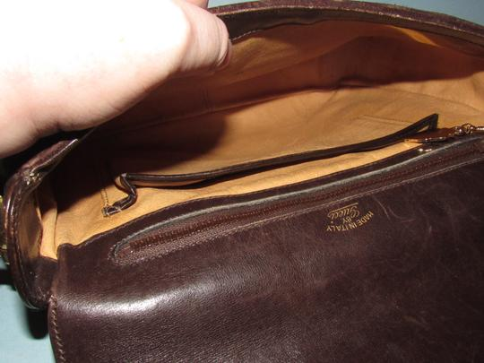 Gucci Equestrian Accents Mint Vintage Early Style Great For Everyday Rich Hobo Bag Image 2