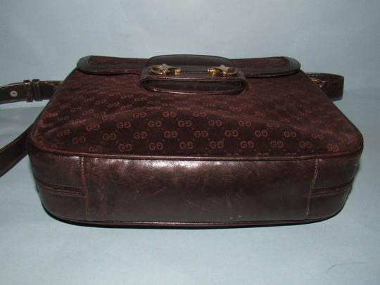 Gucci Equestrian Accents Mint Vintage Early Style Great For Everyday Rich Hobo Bag Image 3