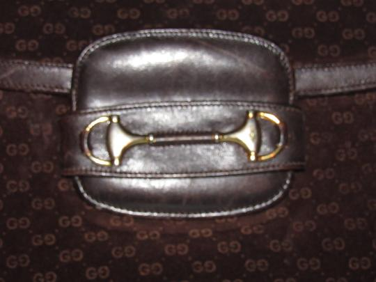 Gucci Equestrian Accents Mint Vintage Early Style Great For Everyday Rich Hobo Bag Image 4
