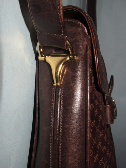 Gucci Equestrian Accents Mint Vintage Early Style Great For Everyday Rich Hobo Bag Image 5