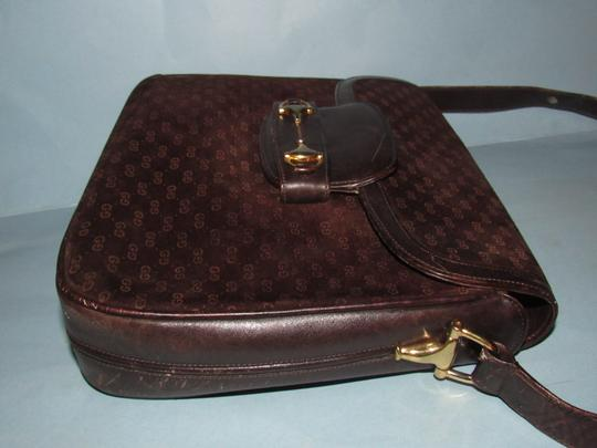 Gucci Equestrian Accents Mint Vintage Early Style Great For Everyday Rich Hobo Bag Image 6