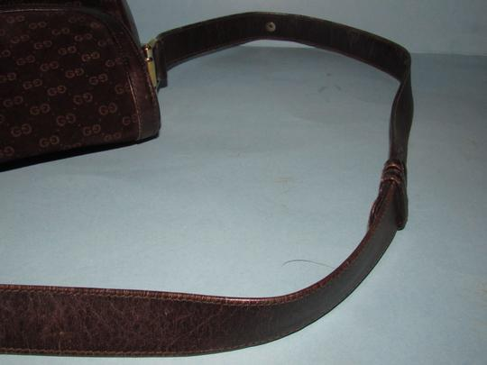 Gucci Equestrian Accents Mint Vintage Early Style Great For Everyday Rich Hobo Bag Image 7