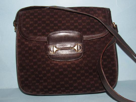 Gucci Equestrian Accents Mint Vintage Early Style Great For Everyday Rich Hobo Bag Image 8