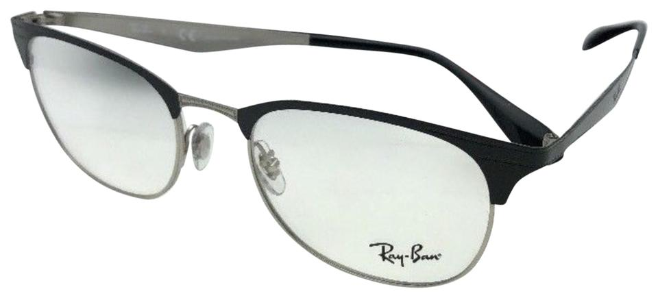 ba00a98617 ... official ray ban new ray ban eyeglasses rb 6346 2861 52 19 145 silver  25d0e 267ec