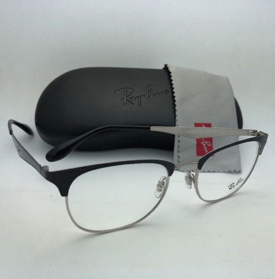 a38918bf1b Ray-Ban New Rb 6346 2861 52-19 145 Silver   Black Metal Frame ...