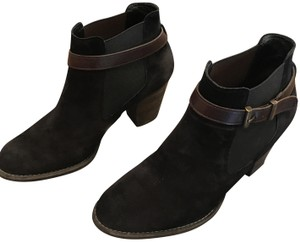Paul Green Weather Resistant Black Brown Boots