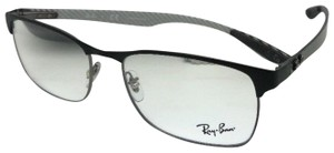 Ray-Ban RAY-BAN Eyeglasses TECH RB 8416 2916 55-17 Black & Gunmetal w/ Carbon