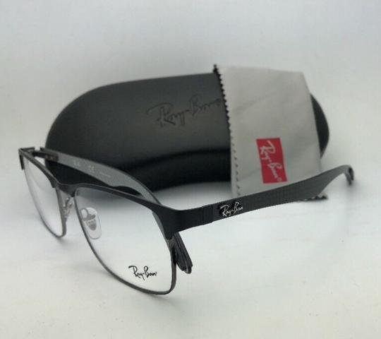 Ray-Ban RAY-BAN Eyeglasses TECH RB 8416 2916 55-17 Black & Gunmetal w/ Carbon Image 10