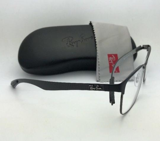 Ray-Ban RAY-BAN Eyeglasses TECH RB 8416 2916 55-17 Black & Gunmetal w/ Carbon Image 2