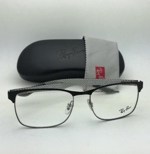 Ray-Ban RAY-BAN Eyeglasses TECH RB 8416 2916 55-17 Black & Gunmetal w/ Carbon Image 3