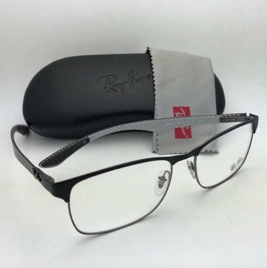 Ray-Ban RAY-BAN Eyeglasses TECH RB 8416 2916 55-17 Black & Gunmetal w/ Carbon Image 4