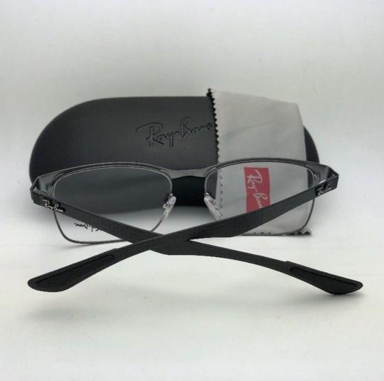 Ray-Ban RAY-BAN Eyeglasses TECH RB 8416 2916 55-17 Black & Gunmetal w/ Carbon Image 6