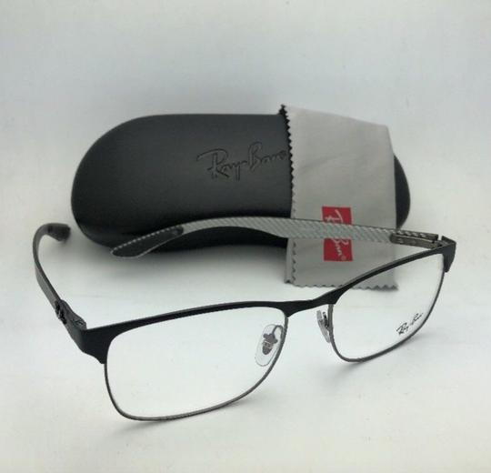 Ray-Ban RAY-BAN Eyeglasses TECH RB 8416 2916 55-17 Black & Gunmetal w/ Carbon Image 7