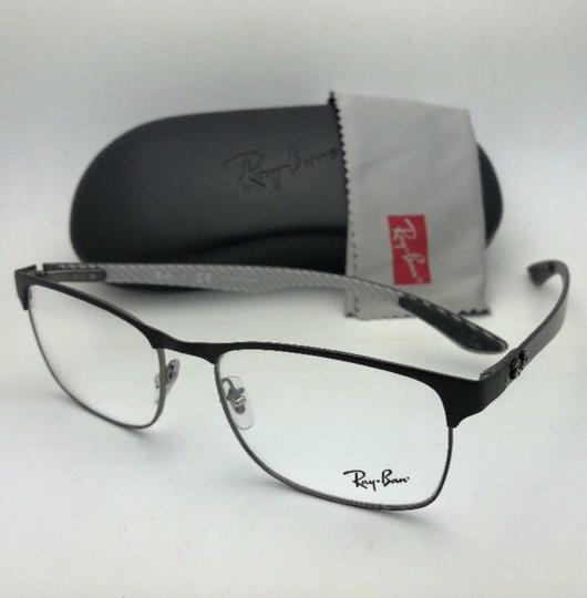 Ray-Ban RAY-BAN Eyeglasses TECH RB 8416 2916 55-17 Black & Gunmetal w/ Carbon Image 9
