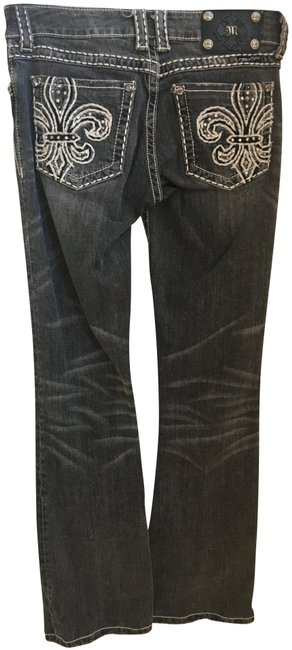 Preload https://img-static.tradesy.com/item/22866143/miss-me-charcoal-grey-distressed-boot-cut-jeans-size-28-4-s-0-1-650-650.jpg