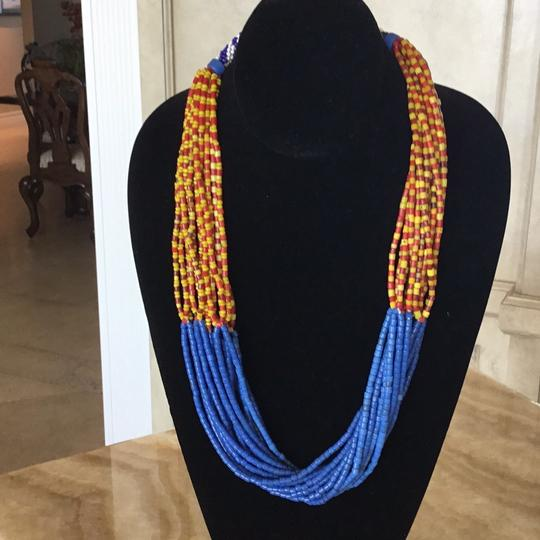 Other Vintage African Bead necklace Image 2