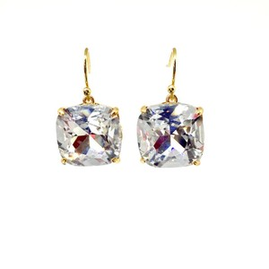 Tory Burch BRAND New Tory Burch Crystal Stone Drop Earrings Sparkling!