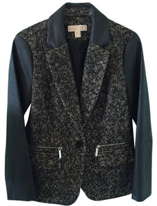 MICHAEL Michael Kors Black And Brown Blazer