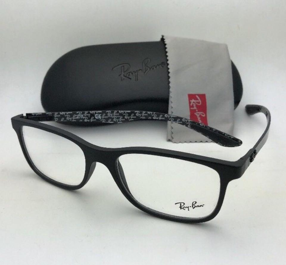 41e65ab1db Ray-Ban New Tech Series Rb 8903 5263 55-17 Matte Black W Carbon Fiber  W Carbon Sunglasses - Tradesy