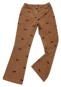 Lilly Pulitzer Boot Cut Pants Brown