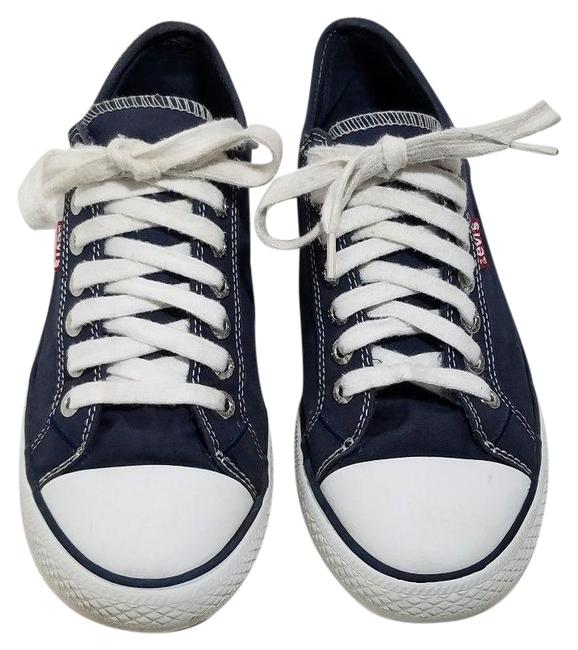Item - Blue Levi Stan Buck Navy Fashion Sneakers Formal Shoes Size US 8 Regular (M, B)