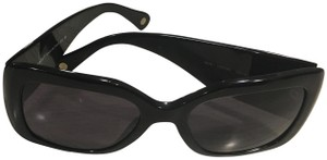 Chanel Black Lucite Quilted Chanel Sunglasses
