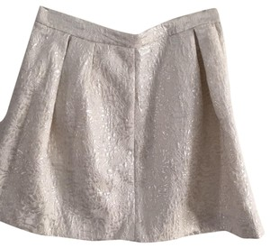 H&M Mini Skirt gray and silver