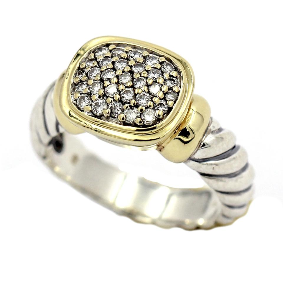 diamonds yurman consigned ring with designs products david heart collectibles rings cable